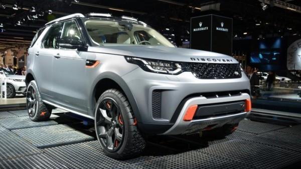 Tại sao Land Rover chậm ra xe concept