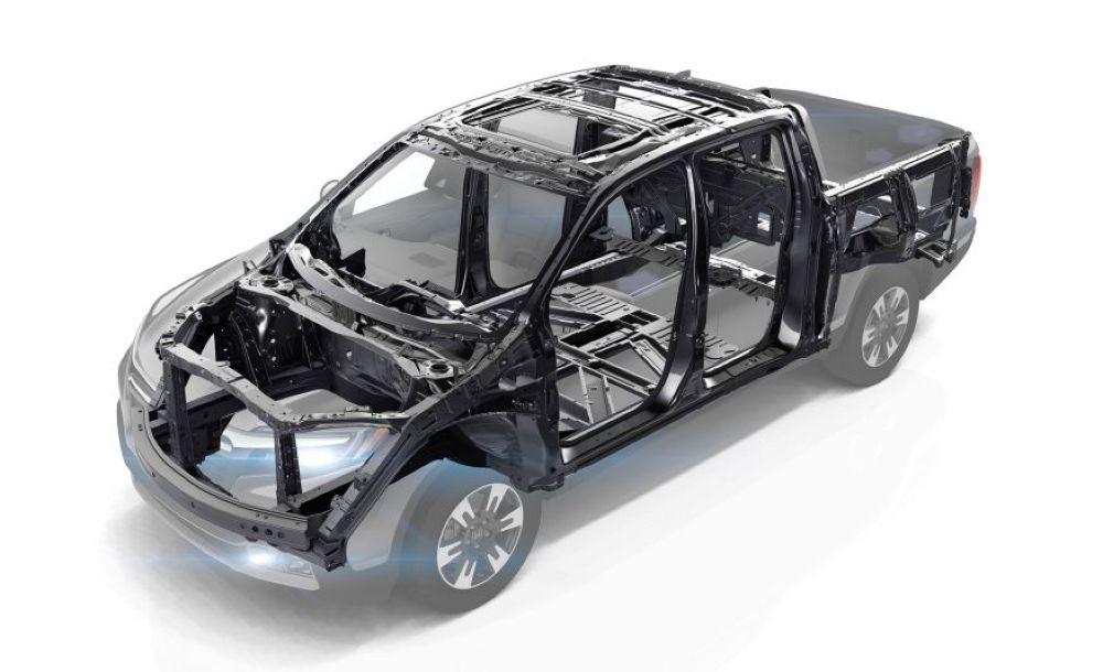 Thiết kế khung Unibody trên Honda Ridgeline 2017 7