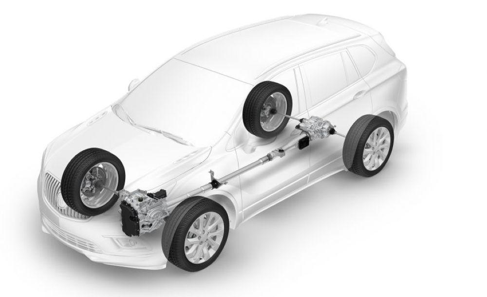 Tính năng điều hướng lực kéo động cơ trên Buick Envision/GMC Acadia 2