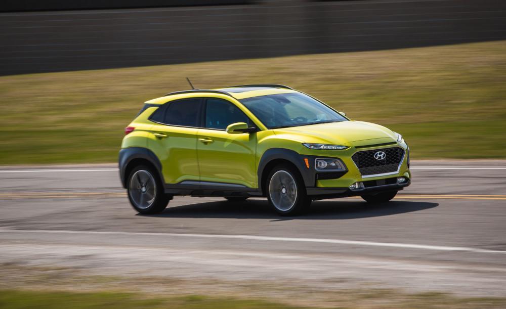 Hyundai Kona 2018: Mẫu crossover nhận được sự nhiệt thích nhất