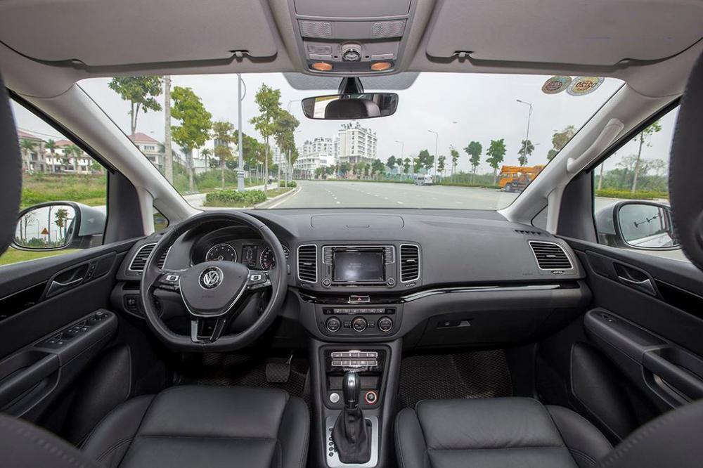 Đánh giá xe Volkswagen Sharan 2018 về trang thiết bị