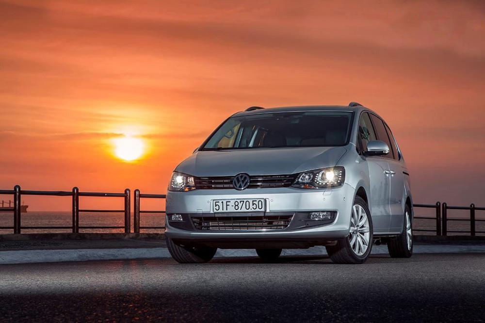 Đánh giá xe Volkswagen Sharan 2018 về thiết kế ngoại thất