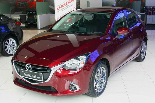 Đánh giá xe Mazda 2 về thiết kế đầu xe