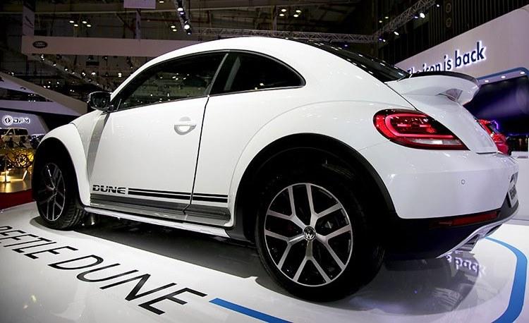 đuôi xe Volkswagen Beetle 2018