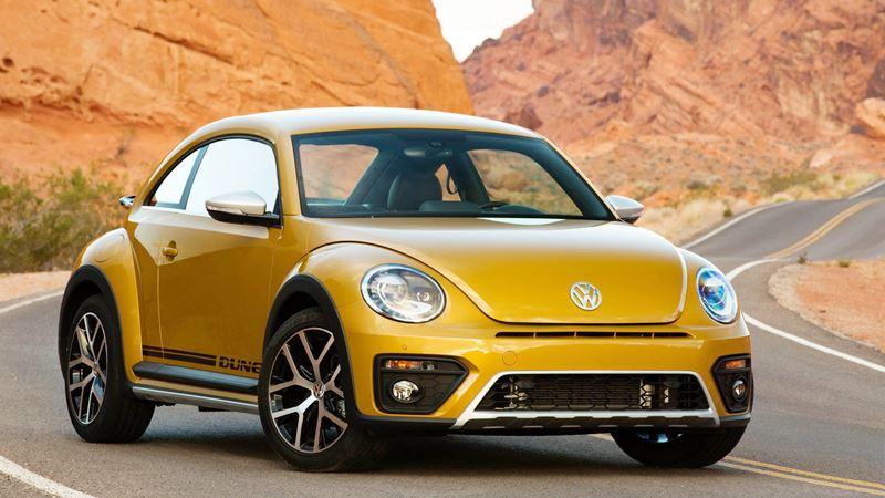 Volkswagen Beetle 2018 là mẫu xe coupe được ưa thích bởi thiết kế mới lạ