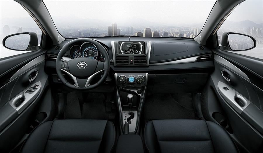 Nội thất sang trọng hiện đại trên Toyota Vios 2018