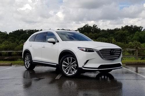 10 xe SUV/Crossover 3 hàng ghế tốt nhất năm 2019:Mazda CX-9 2019.