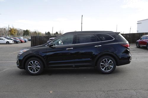 10 xe SUV/Crossover 3 hàng ghế tốt nhất năm 2019:Hyundai Santa Fe XL 2019.
