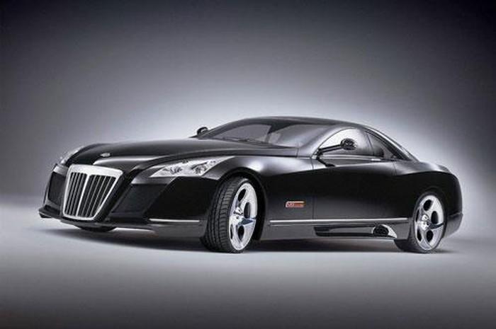 10 siêu xe đắt đỏ nhất hành tinh: Mercedes-Maybach Exelero.