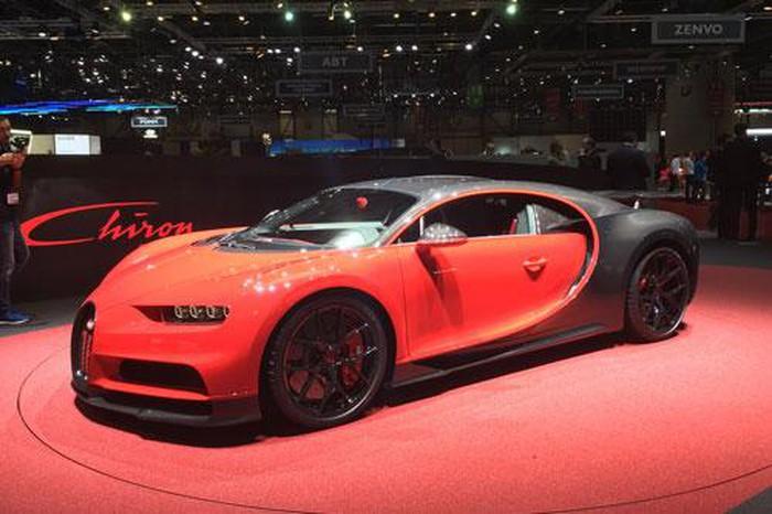 10 siêu xe đắt đỏ nhất hành tinh: Bugatti Chiron Sport.