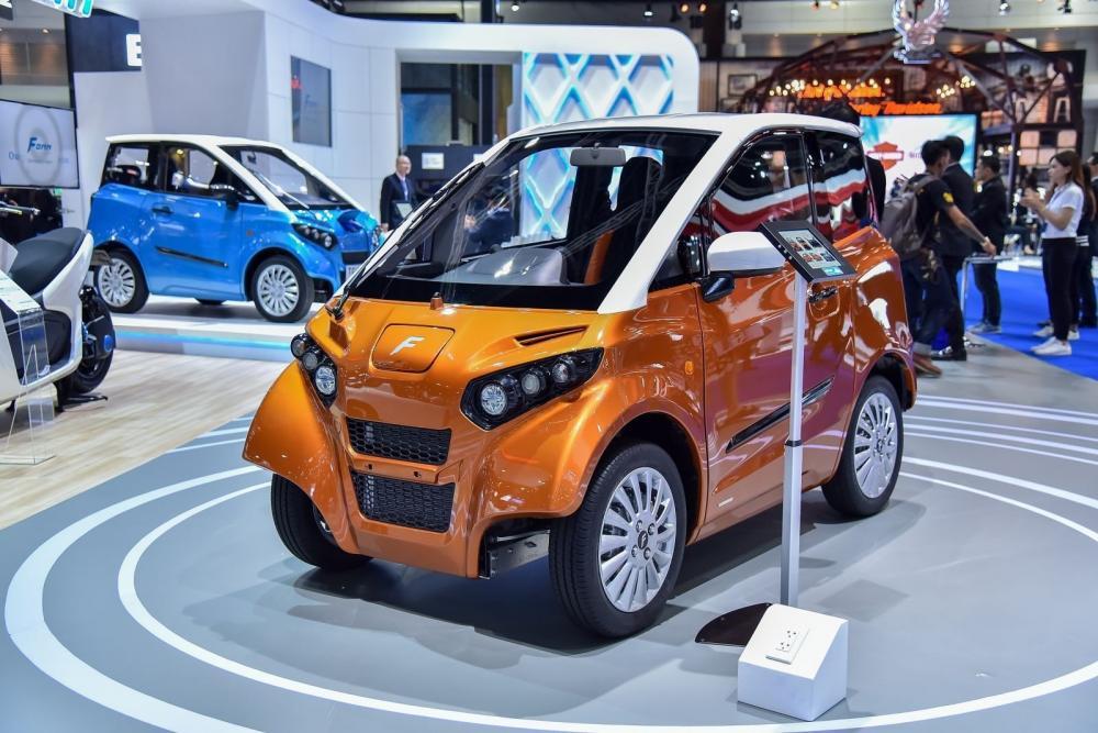 Xe hơi chạy điện Fomm Concept One có thể lội nước của Nhật Bản chuẩn bị về Việt Nam 1.