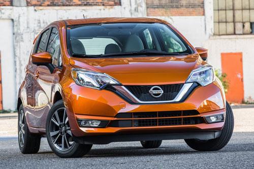 mẫu xe ô tô bị bán lại nhiều nhất sau 1 năm sử dụng - Nissan Versa Note.