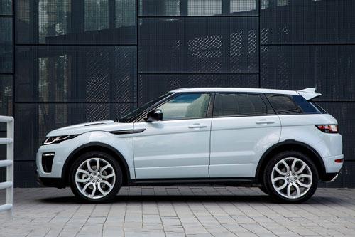 mẫu xe ô tô bị bán lại nhiều nhất sau 1 năm sử dụng - Range Rover Evoque.