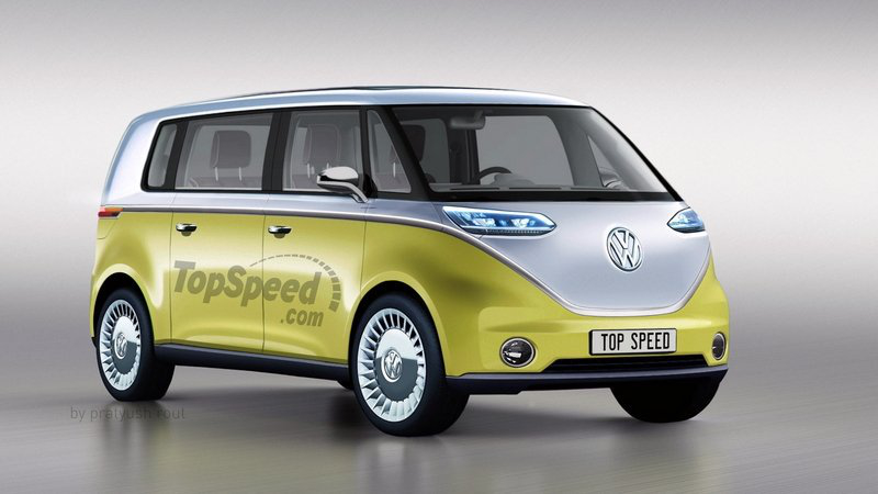 Top 10 mẫu xe ô tô điện nổi bật nhất trong tương lai: WW ID Buzz.