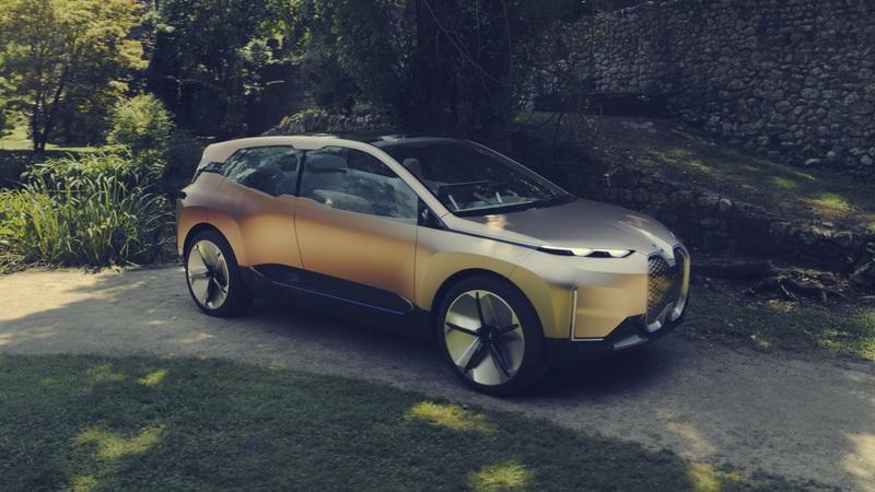 Top 10 mẫu xe ô tô điện nổi bật nhất trong tương lai: BMW Vision Inext.