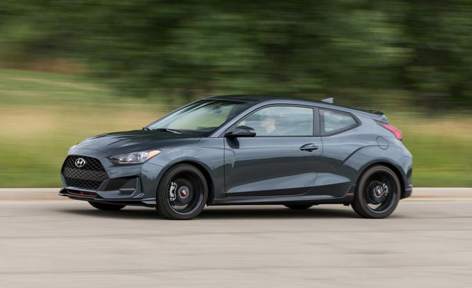 mẫu xe ô tô mà giới trẻ Mỹ mê nhất: Hyundai Veloster.