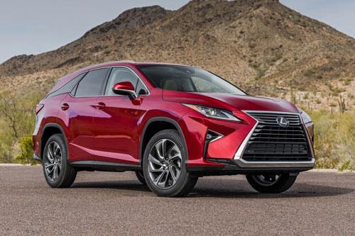Top 10 xe SUV an toàn nhất năm 2019: Lexus RX 2019.