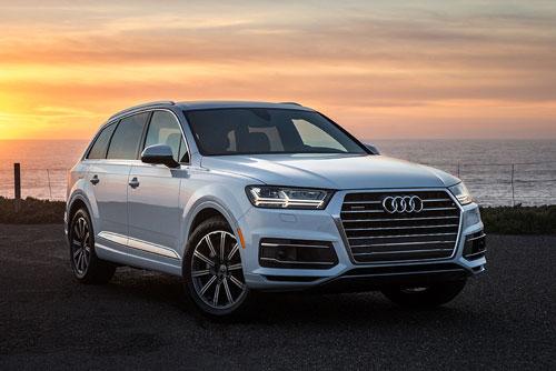 Top 10 xe SUV an toàn nhất năm 2019: Audi Q7 2019.