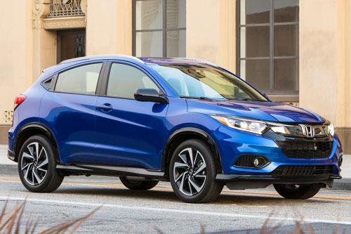Top 10 xe SUV an toàn nhất năm 2019: Honda HR-V 2019.