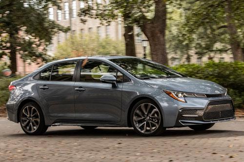10 ô tô cỡ nhỏ đạt độ tin cậy cao nhất hiện nay: Toyota Corolla 2019 và 2020..