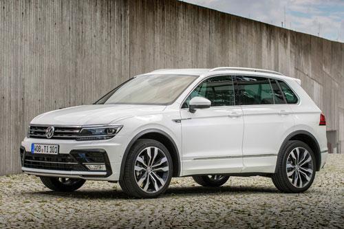 10 xe hơi ăn khách nhất tại Anh: Volkswagen Tiguan.