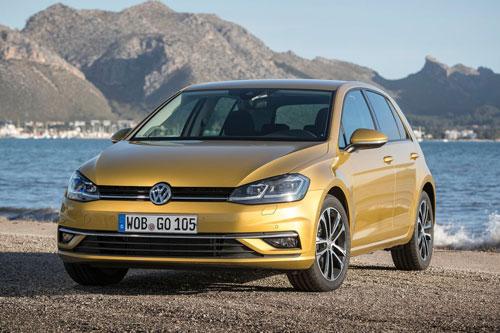 10 xe hơi ăn khách nhất tại Anh: Volkswagen Golf.