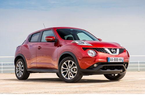 10 xe hơi ăn khách nhất tại Anh: Nissan Juke.