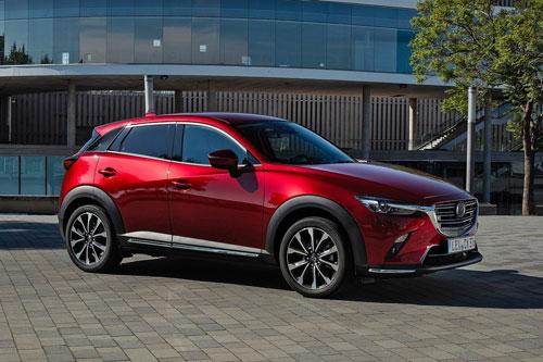 10 đối thủ đáng gờm của SUV cỡ nhỏ BMW X2: Mazda CX-3 2019..