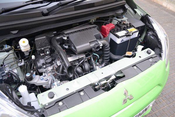 Nhược điểm của Attrage nằm ở thiết kế động cơ
