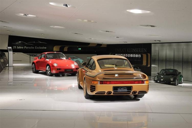 """Porsche 959 dát vàng """"hàng hiếm"""" thuộc sở hữu của hoàng tộc Qatar 4a"""