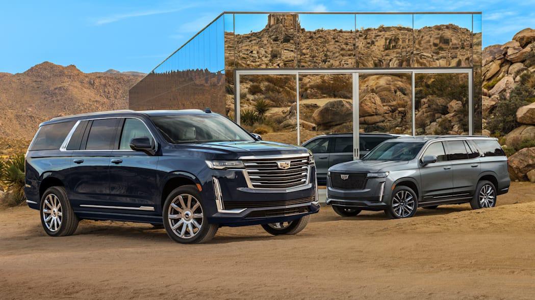 ngoại hình Cadillac Escalade ESV
