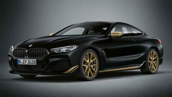 BMW 8-Series Golden Thunder Edition