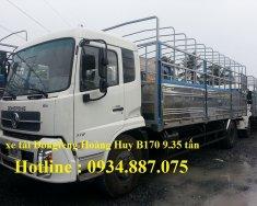 Xe tải Dongfeng b170 9.35 tấn (9T35) nhập khẩu - xe tải DF Hoàng Huy B170 9.35 tấn giá 705 triệu tại Tp.HCM