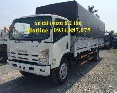Bán xe tải Isuzu VM 8t2 - 8T2 - 8.2 tấn thùng dài 7.1 mét nâng tải giá 785 triệu tại Tp.HCM