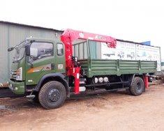 Bán xe tải Dongfeng Trường Giang 8.7 tấn 2 cầu, gắn cẩu Unic 5 tấn tại Long Biên giá 700 triệu tại Hà Nội