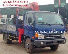 Bán xe tải Hyundai HD700 gắn cẩu unic 3 tấn, giá rẻ giá 650 triệu tại Hà Nội