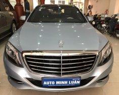 Bán Mercedes S500L đời 2015, màu xanh bạc, nhập khẩu nguyên chiếc giá 3 tỷ 600 tr tại Tp.HCM