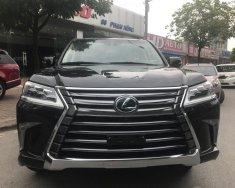 Bán Lexus LX 570 Trung Đông 2017, màu đen nội thất kem giá 7 tỷ 200 tr tại Hà Nội