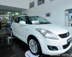 Đại lý Suzuki Việt Anh bán xe Suzuki Swift đời 2018, màu trắng giá tốt kèm nhiều khuyến mãi giá 569 triệu tại Hà Nội