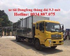 Bán xe tải Dongfeng 6t7 - dongfeng 6.7 tân (6,7 tấn) thùng dài 9.3m nhập khẩu giá 715 triệu tại Tp.HCM