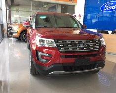 Bán xe Ford Explorer 2.3 Ecoboost năm 2018, màu đỏ, mới 100%. Vui lòng L/H 090.778.2222 giá 2 tỷ 180 tr tại Hà Nội