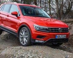 Bán ô tô Volkswagen Tiguan Allspace năm 2018, phiên bản 7 chỗ màu đỏ, nhập khẩu nguyên chiếc giá 1 tỷ 699 tr tại Hà Nội