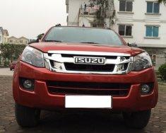 Cần bán Isuzu Dmax số sàn, hai cầu mầu đỏ đun, chính chủ 2015, xe nhập khẩu nguyên chiếc giá 465 triệu tại Hà Nội