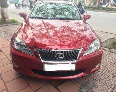 Bán Lexus IS 250 đời 2010, màu đỏ, nhập khẩu giá 1 tỷ 50 tr tại Hà Nội