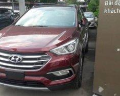 Bán xe Hyundai Santa Fe sản xuất 2018, màu đỏ giá Giá thỏa thuận tại Tp.HCM