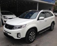 Cân bán Kia Sorento GATH 2016 màu trắng 1 đời chủ giá 835 triệu tại Hà Nội