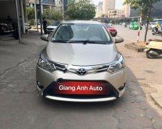 Giang Anh Auto bán xe Toyota Vios E đời 2017, màu vàng giá 555 triệu tại Hà Nội