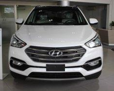 Bán ô tô Hyundai Santa Fe đời 2018, màu trắng giá 920 triệu tại Tp.HCM