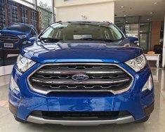 Bán ô tô Ford EcoSport Titanium sản xuất 2018, màu xanh lam giá 648 triệu tại Hà Nội