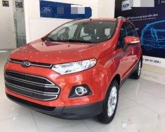 Bán ô tô Ford EcoSport Titanium 2018, màu đỏ giá cạnh tranh giá 625 triệu tại Hà Nội